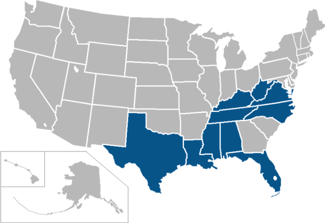 Conference USA Map